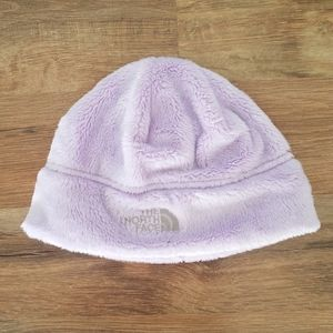 Lavender The North Face beanie.  Small